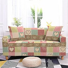 Sofa Covers 4 Seater Pink Heart Shape Couch Cover