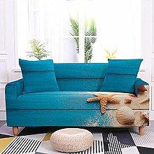 Sofa Covers Beach Starfish Blue Sofa Cover Soft