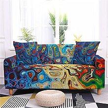 Sofa Covers for Leather Sofa, Colorful Creative