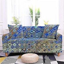 Sofa Covers for Leather Sofa, Creative Blue