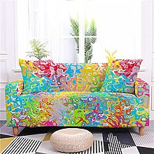 Sofa Covers for Leather Sofa, Creative Colorful