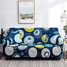 Sofa Covers for Leather Sofa, Dark Blue Irregular