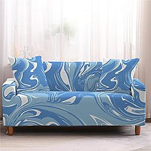 Sofa Covers for Leather Sofa, Modern Duck Egg Blue