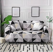 Sofa Covers For Leather Sofa, Modern Gray White