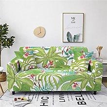 Sofa Covers For Leather Sofa,Modern Green Leaf