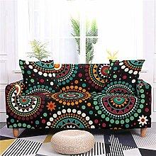 Sofa Covers for Leather Sofa, Retro Black Polka