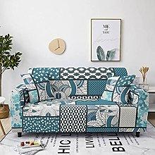 Sofa Covers For Leather Sofa,Retro Green Lattice
