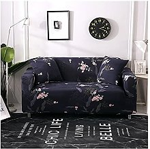 Sofa Covers For Leather Sofa, Retro Navy Blue