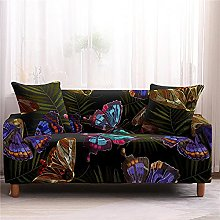 Sofa Covers for Leather Sofa, Vintage Black
