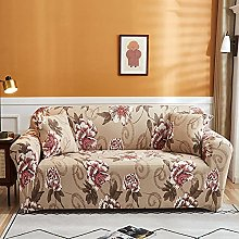 Sofa Covers For Leather Sofa,Vintage Khaki Peony