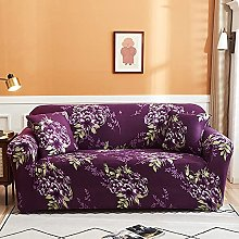 Sofa Covers For Leather Sofa,Vintage Purple Peony