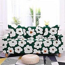 Sofa Covers Grass Green White Flowers Sofa Cover