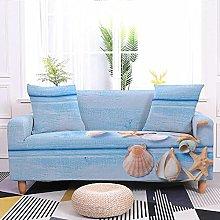 Sofa Covers Light Blue Shell Sofa Cover Soft