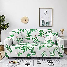 Sofa Covers, Modern Green Olive Leaf Branch