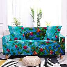 Sofa Covers Pdark Green Flower Sofa Cover Soft