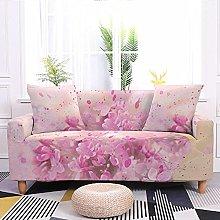 Sofa Covers Peach Blossom Sofa Cover Soft Spandex