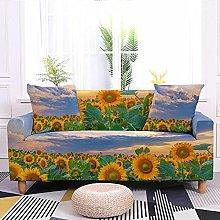 Sofa Covers Plant Sunflower Sofa Cover Soft