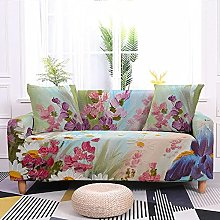 Sofa Covers Purple Pink Flower Sofa Cover Soft