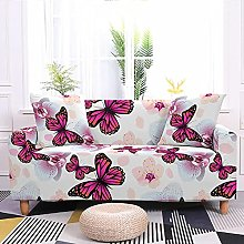 Sofa Covers Rose Red Butterfly Sofa Cover Soft