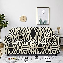 Sofa Covers Slipcover Black geometric pattern Sofa