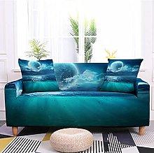 Sofa Covers Slipcover Blue moon pattern Sofa High
