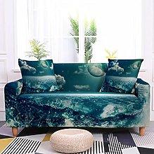 Sofa Covers Slipcover Blue night ocean Sofa High
