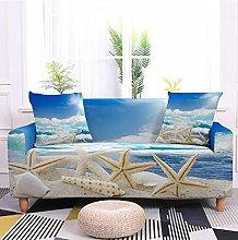 Sofa Covers Slipcover Blue starfish pattern Sofa