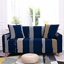 Sofa Covers Slipcover Blue stripes pattern Sofa
