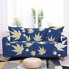 Sofa Covers Slipcover Blue yellow leaves Sofa High