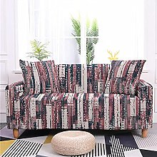 Sofa Covers Slipcover Pink plaid pattern Sofa High