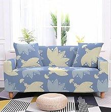 Sofa Covers Slipcover Purple leaf pattern Sofa
