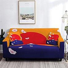 Sofa Covers Slipcover Red sun pattern Sofa High