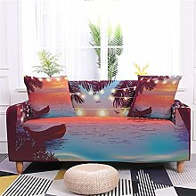 Sofa Covers Slipcover Red sunset pattern Sofa High