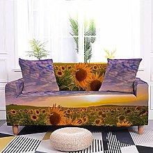 Sofa Covers Sunflower Sofa Cover Soft Spandex