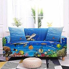 Sofa Covers Turtle Fish Sofa Cover Soft Spandex