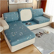 Sofa Cushion Cover Stretch Printed Polyester