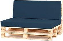 Sofa Cushion Sol 72 Outdoor Colour: Navy