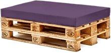 Sofa Cushion Sol 72 Outdoor Colour: Purple