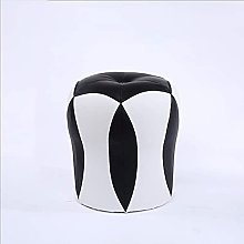 Sofa Footstool Pu Leather Color Matching Soft Low
