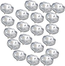 Sofa Headboard Upholstery Crystal Buttons Soft