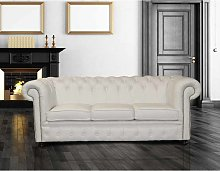 Sofa Leather Chesterfield for Living Room | UK