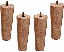Sofa Legs, 4Pcs Wooden Furniture Legs,Cabinet Feet