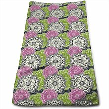 Sofa pillow Hand Towels Regular Retro Print Super