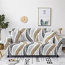 Sofa Protector, Modern Creative Gray Olive Leaf