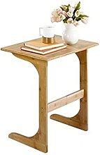 Sofa Side End Table Solid Wood Movable Sofa Corner