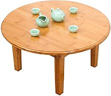 Sofa side table coffee table folding table round