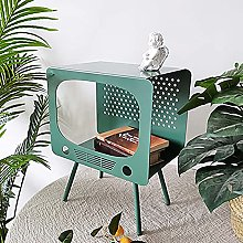 Sofa Side Table,Small Coffee Table 2-Tiers Living
