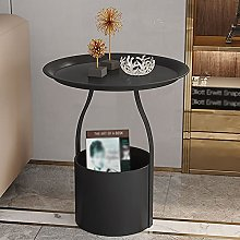 Sofa Side Table,Small Coffee Table Mini Round Side