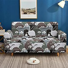 Sofa Slipcover Stretch Elastic Fabric 3D Mountain