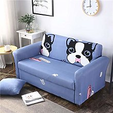 Sofa Slipcovers 2 seater Round face cute dog